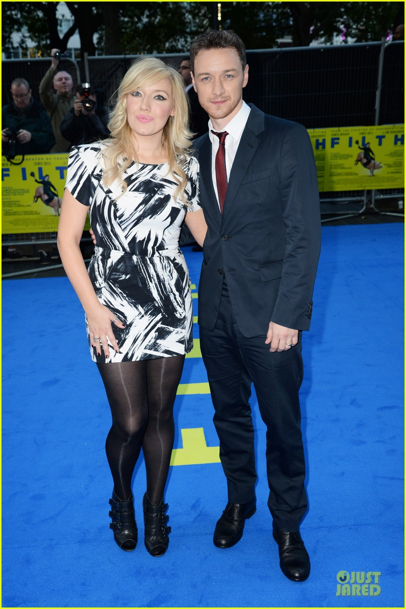 james mcavoy imogen poots filth london premiere 08