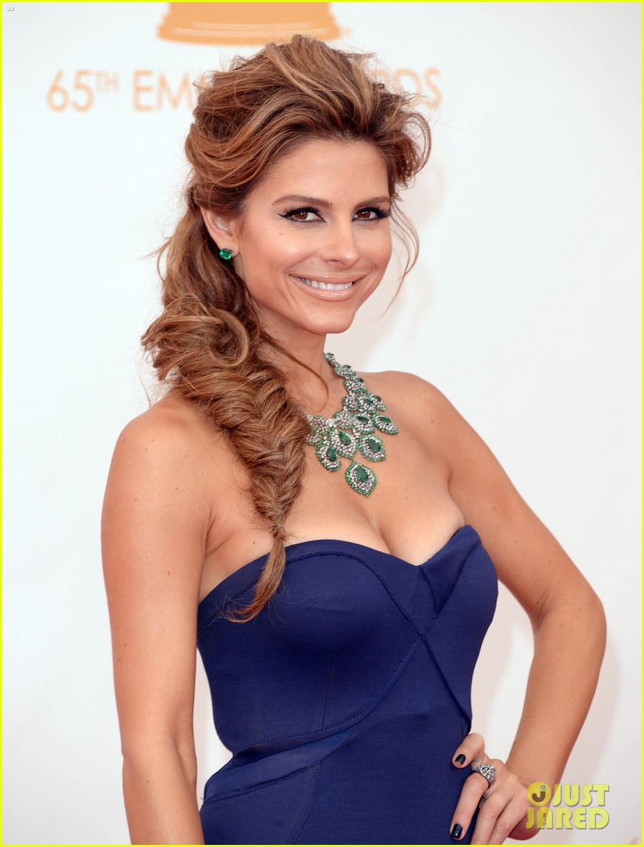 maria menounos mario lopez emmys 2013 red carpet 132957864