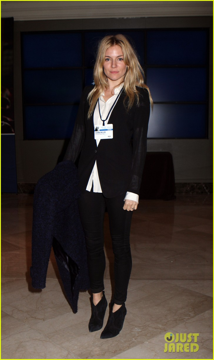 sienna miller clinton global initiative events in new york 15