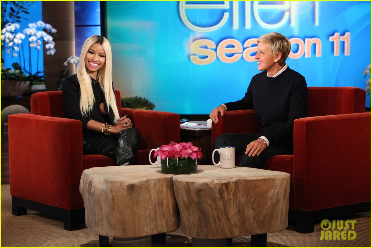 nicki minaj talks american idol exit on ellen 012960344