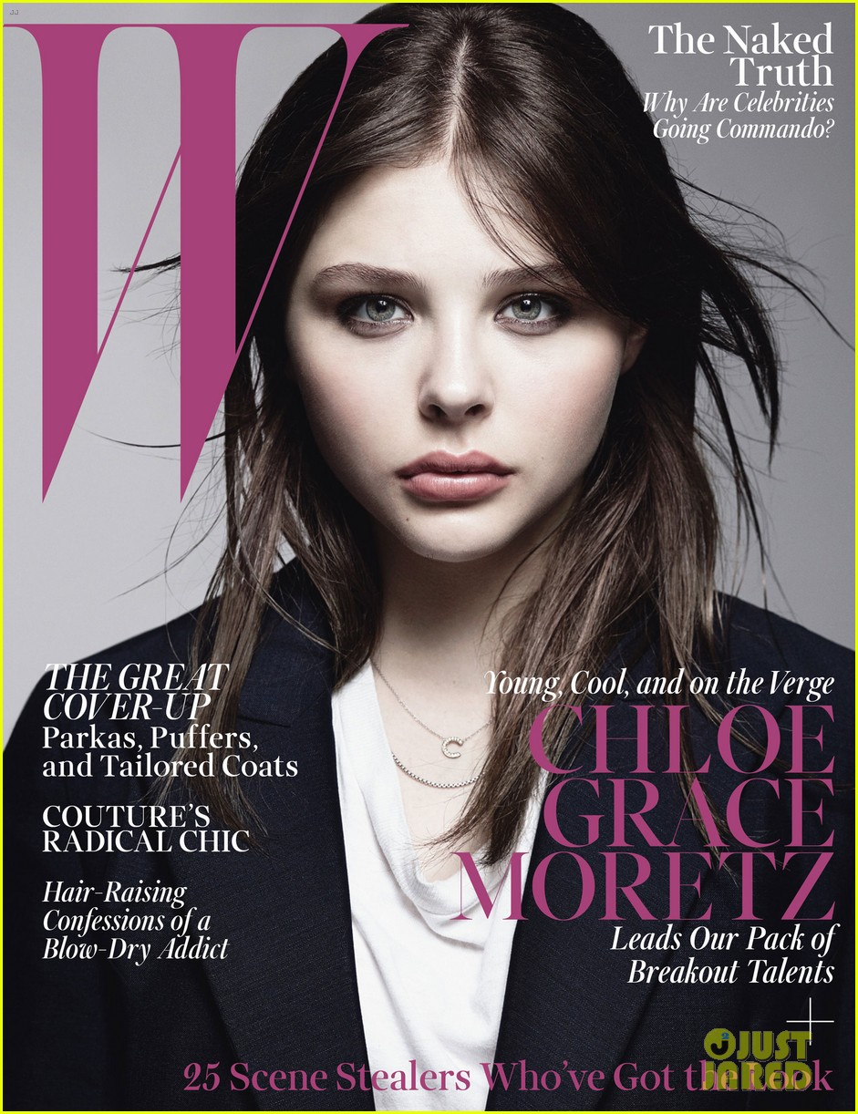 chloe moretz covers w magazine october 2013 02