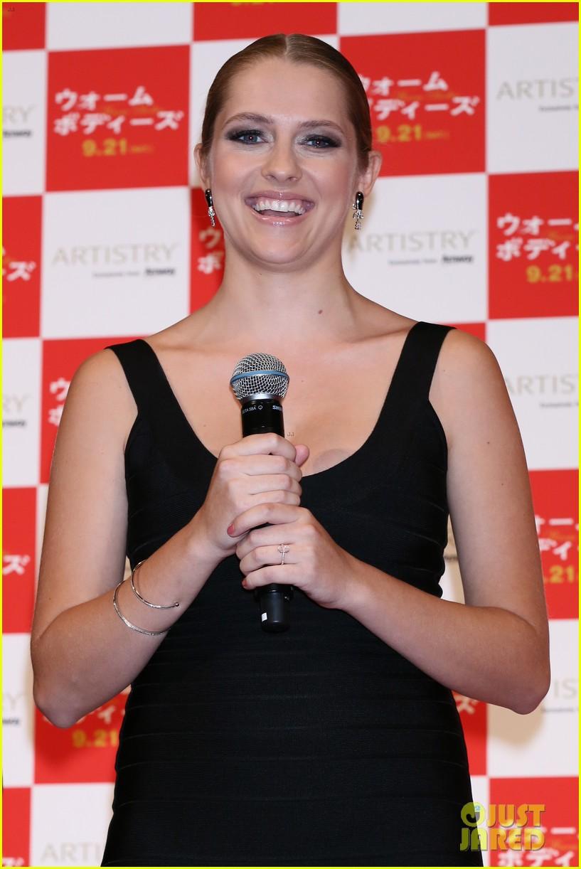 teresa palmer warm bodies japan premiere 112948123