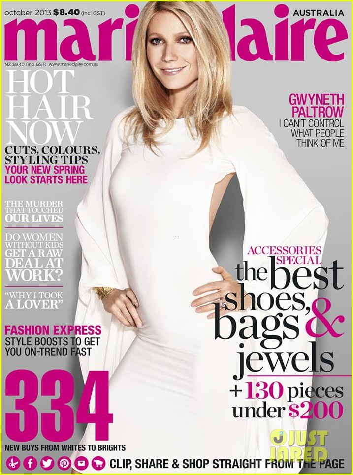 gwyneth paltrow covers marie claire australia october 2013 01