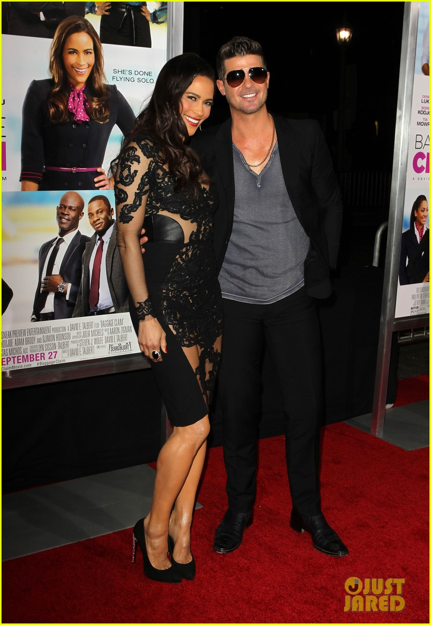 paula patton baggage claim premiere with robin thicke 11