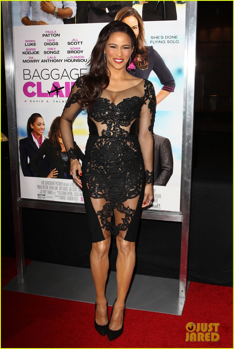 paula patton baggage claim premiere with robin thicke 152960174