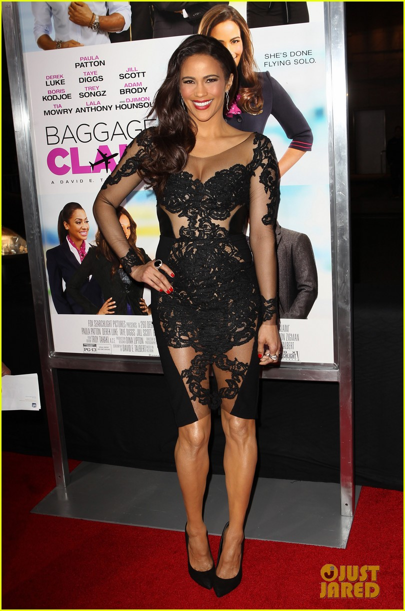 paula patton baggage claim premiere with robin thicke 19