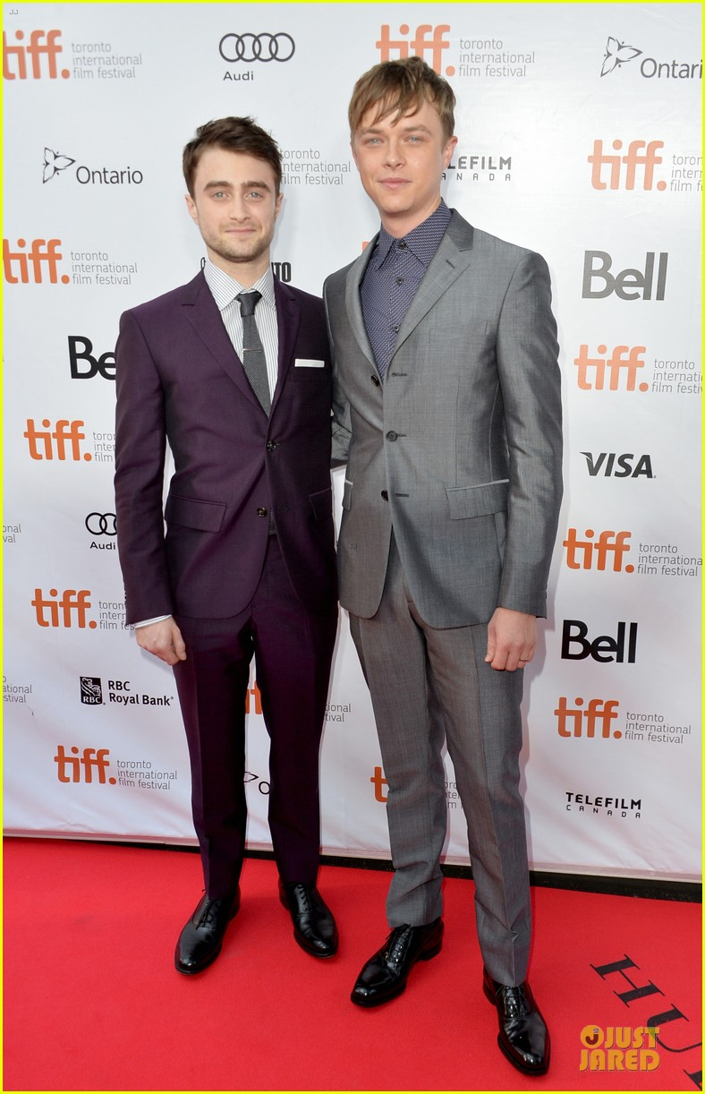 daniel radcliffe michael c hall kill your darlings tiff premiere 15