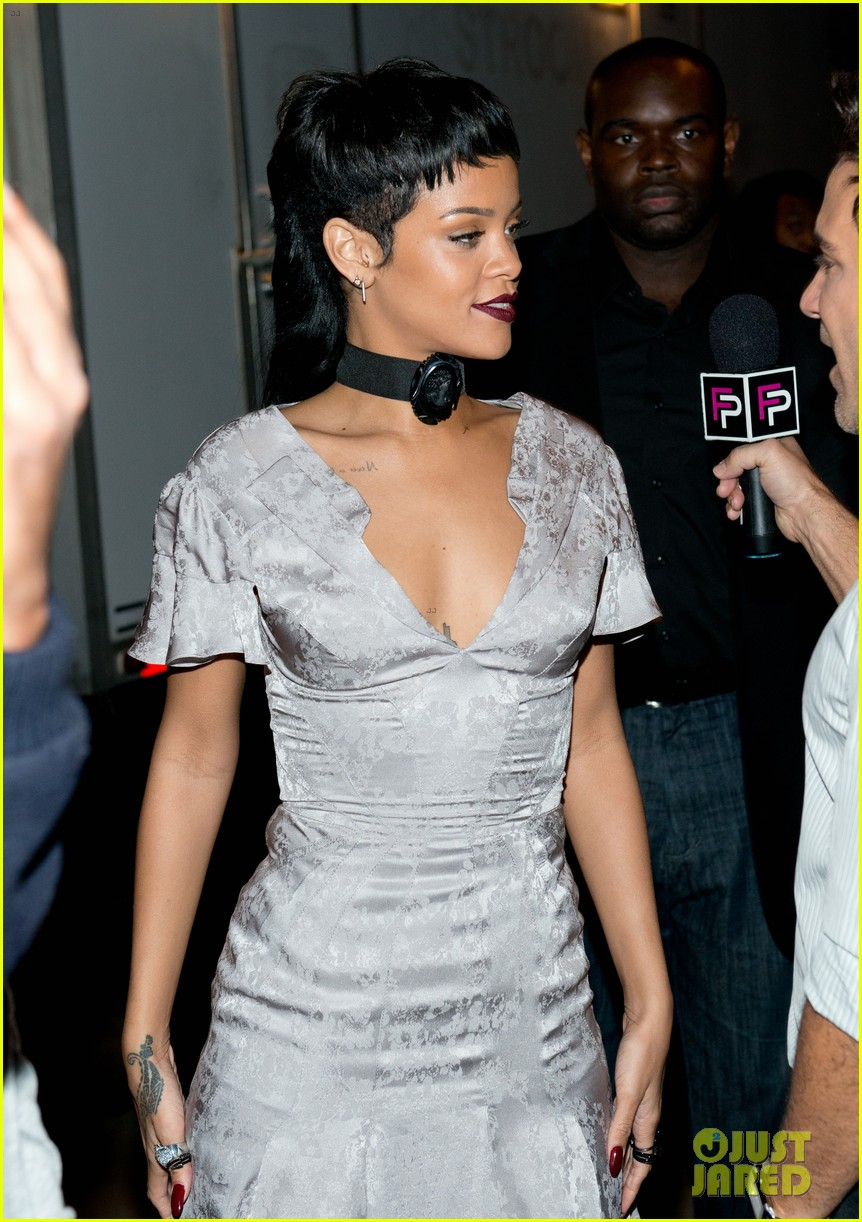rihanna justin bieber opening ceremony nyfw after party 102947985