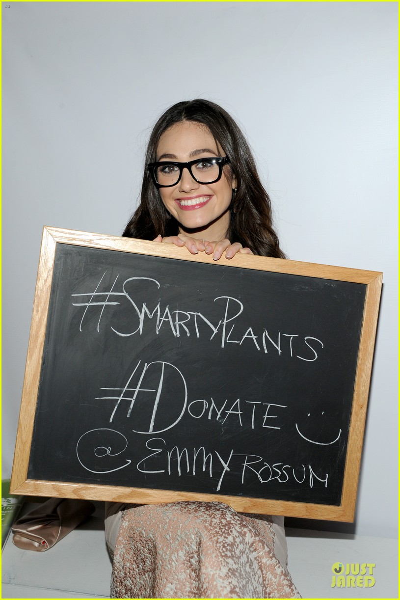 emmy rossum origins smartyplants event host 04