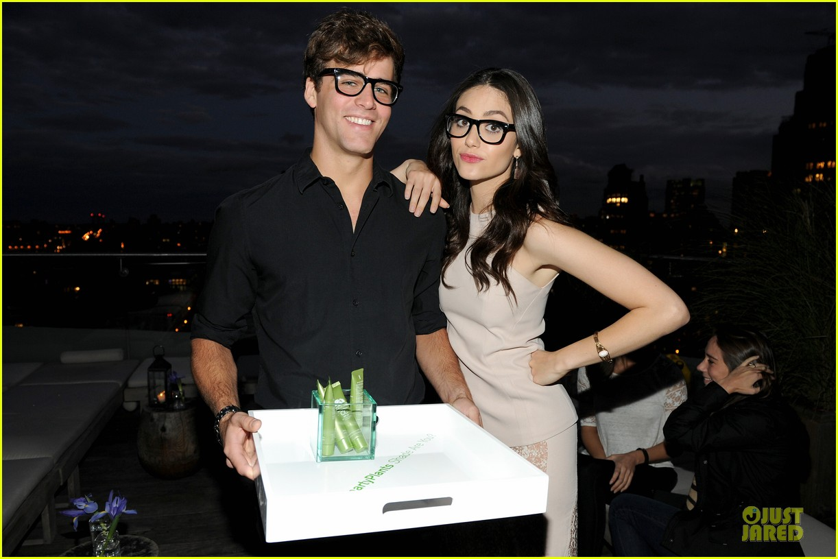 emmy rossum origins smartyplants event host 11