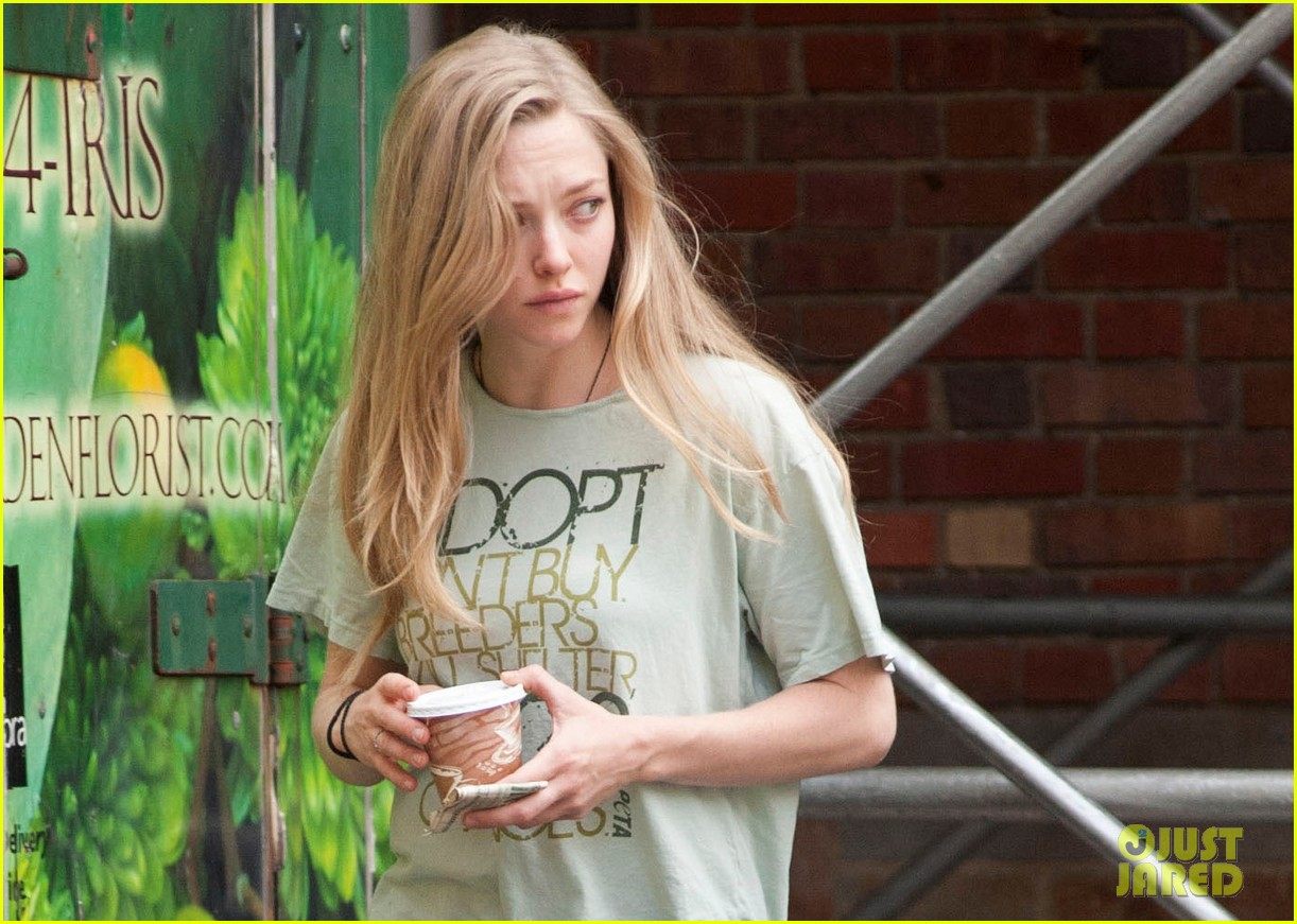 amanda seyfried walks finn after celebrating his birthday 042961002