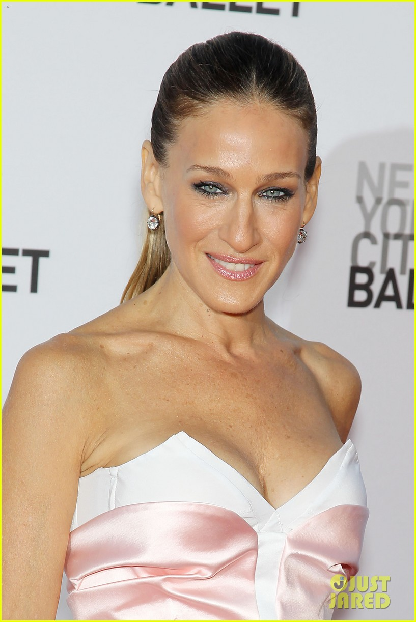 sarah jessica parker drew barrymore nyc ballet gala 10