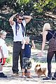 gwen stefani possible baby bump drop off the boys 08
