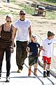 gwen stefani possible baby bump drop off the boys 12