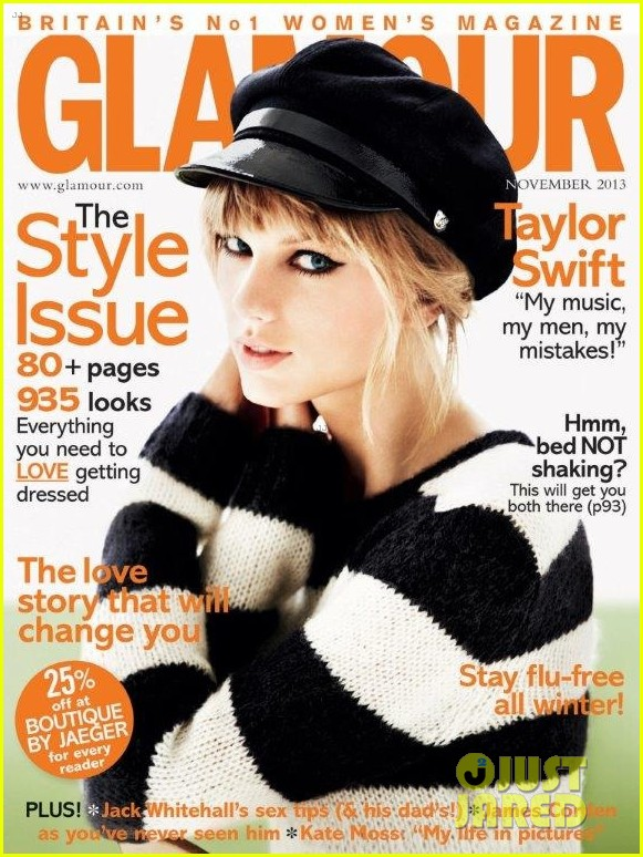 taylor swift to glamour uk ive never fit perfectly with someone