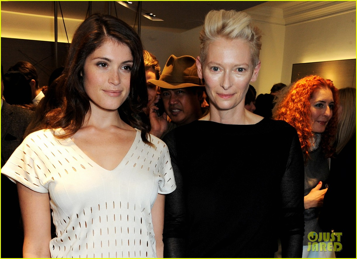 tilda swinton samantha barks pringle of scotland event 02