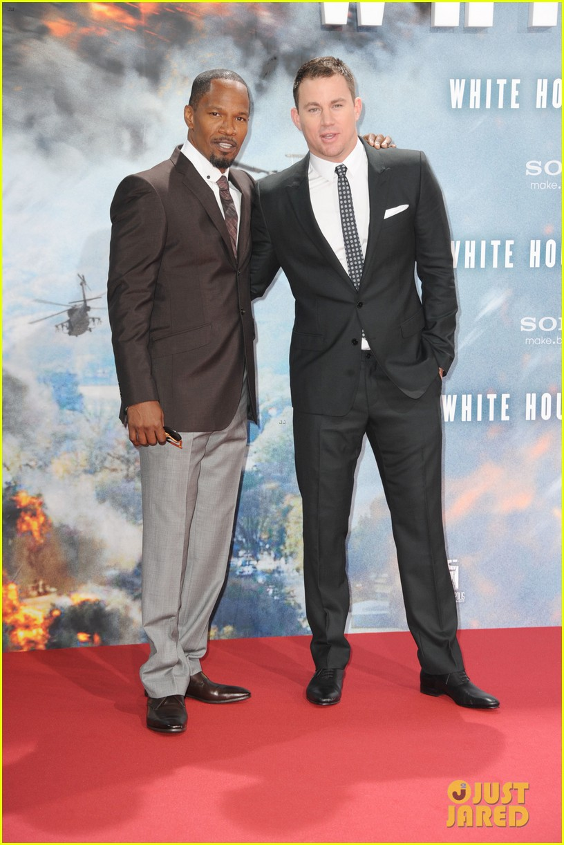 channing tatum jamie foxx white house down in berlin 01