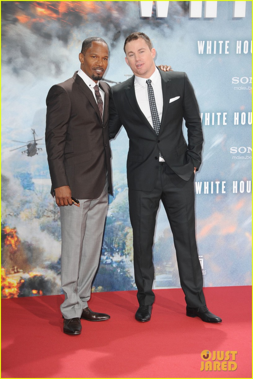 channing tatum jamie foxx white house down in berlin 142942469