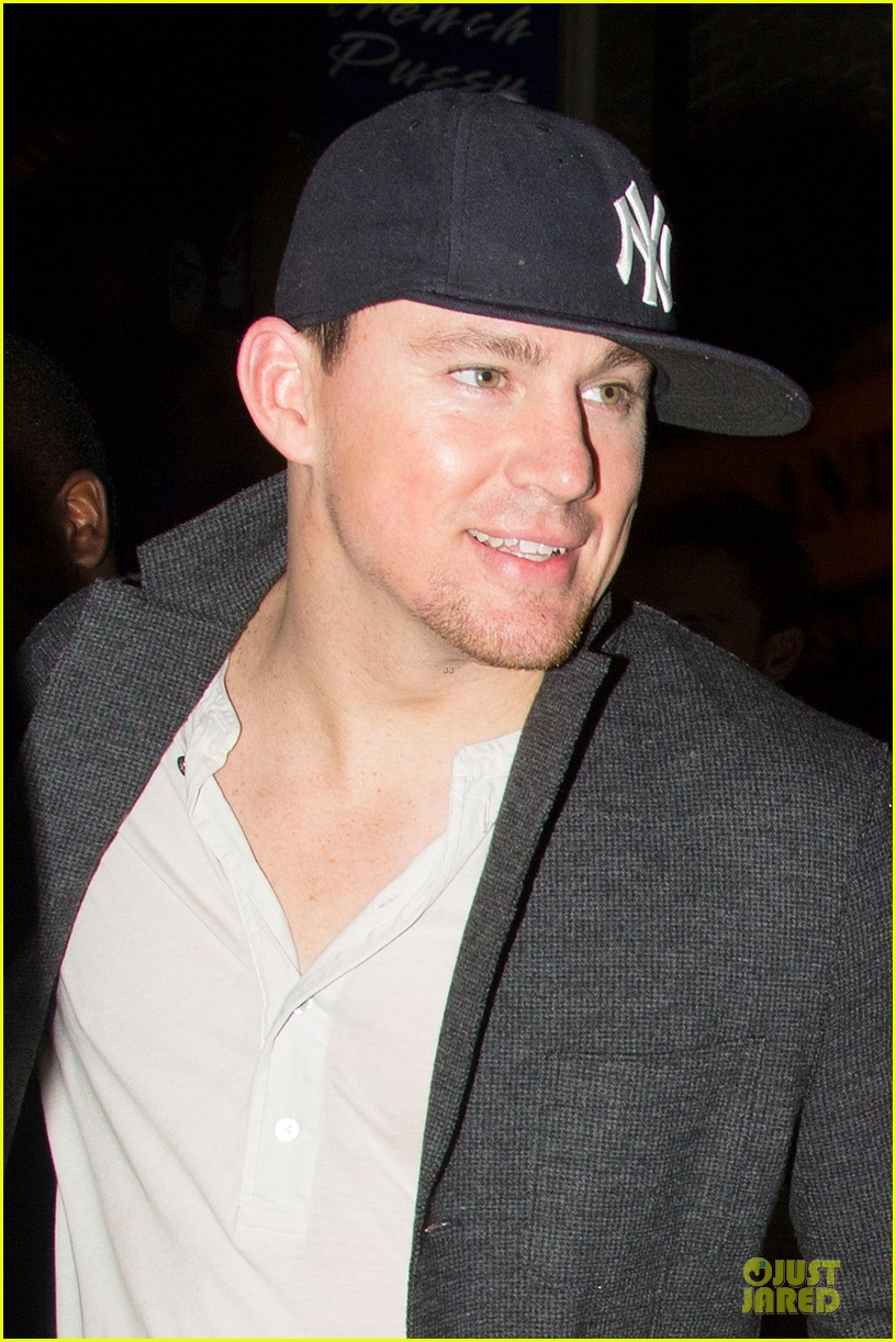 channing tatum jamie foxx the box nightclub duo 04