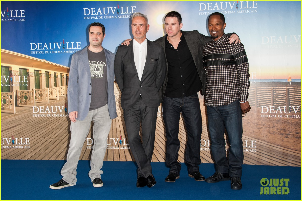 channing tatum jamie foxx white house down deauville photo call 032941621