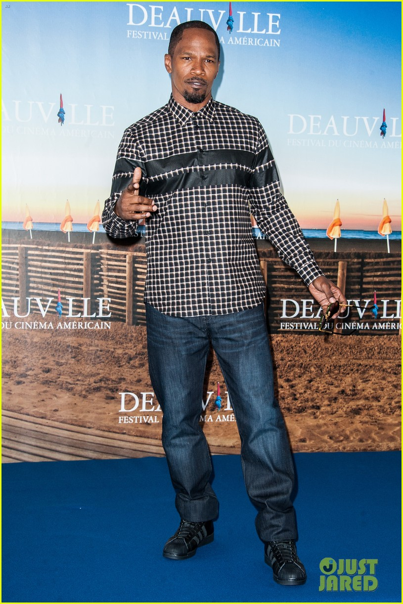 channing tatum jamie foxx white house down deauville photo call 062941624