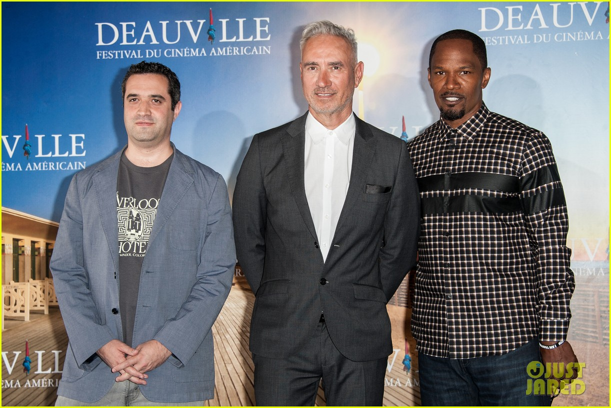 channing tatum jamie foxx white house down deauville photo call 102941628