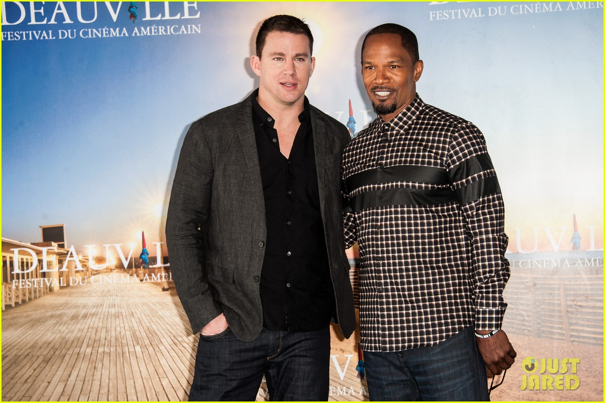 channing tatum jamie foxx white house down deauville photo call 172941635