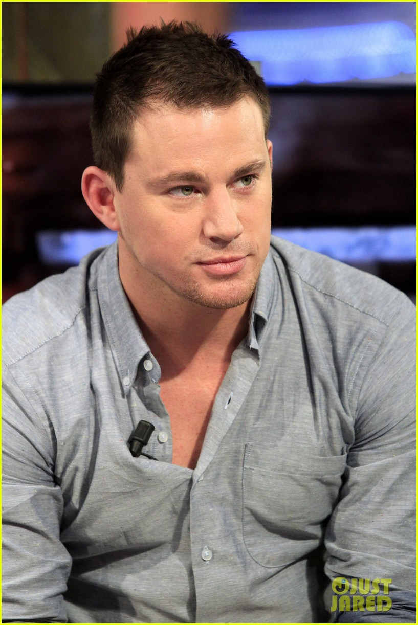 Channing tatum hangs in london after spanish tv appearance 13