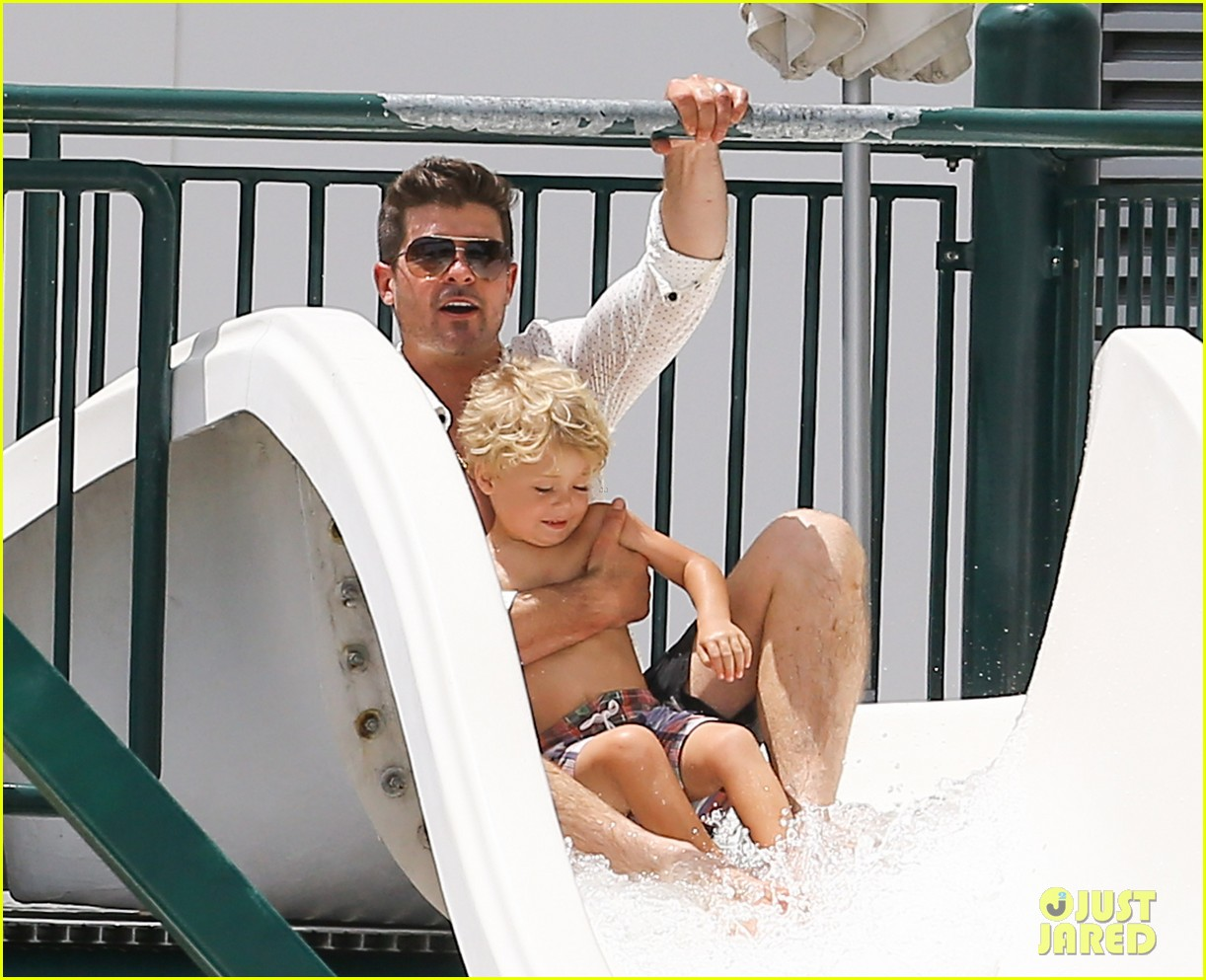 robin thicke waterslide adventures with julian 14