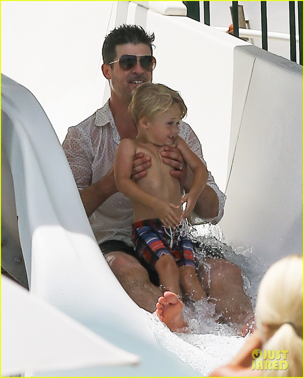 robin thicke waterslide adventures with julian 242942110