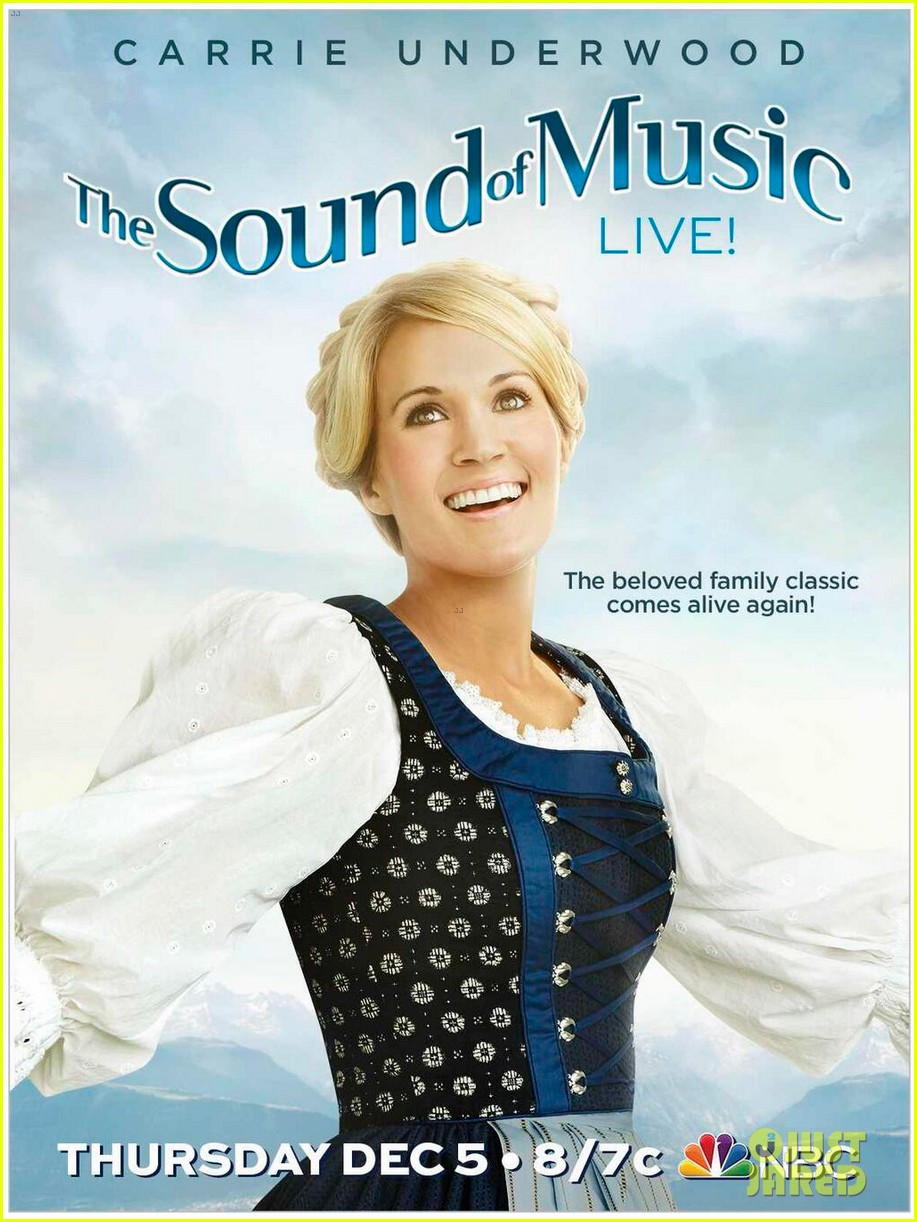 carrie underwood as maria in sound of music first look