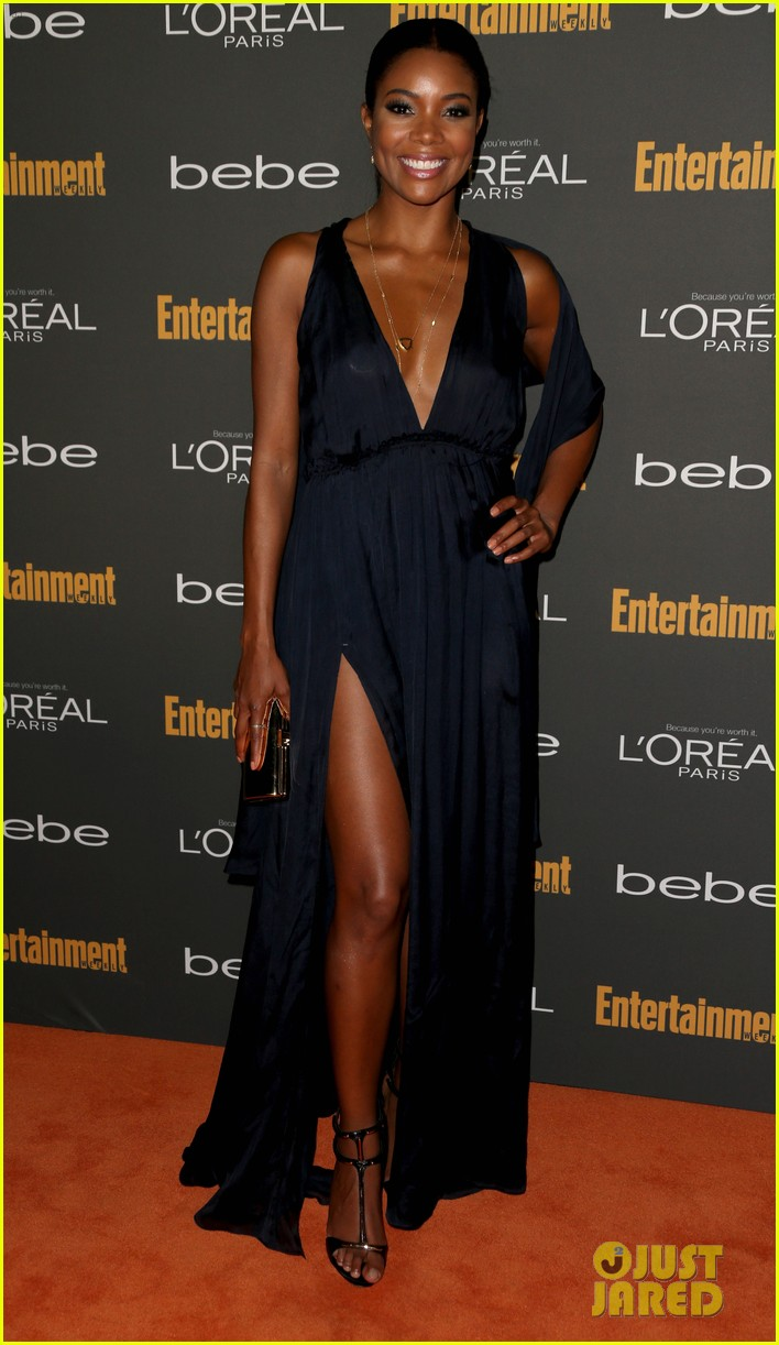 gabrielle union cobie smulders ew pre emmy party 2013 17