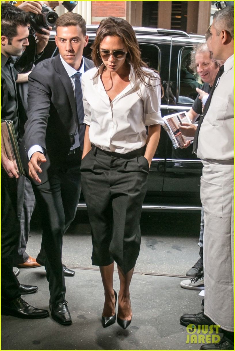 victoria beckham presents her spring collection at fashion week 23