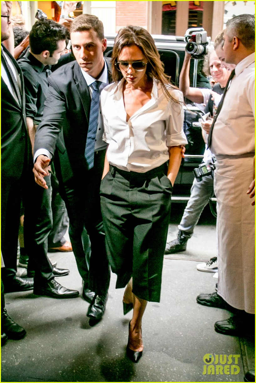 victoria beckham presents her spring collection at fashion week 24
