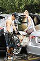 emily vancamp josh bowman get groceries at gelsons 05