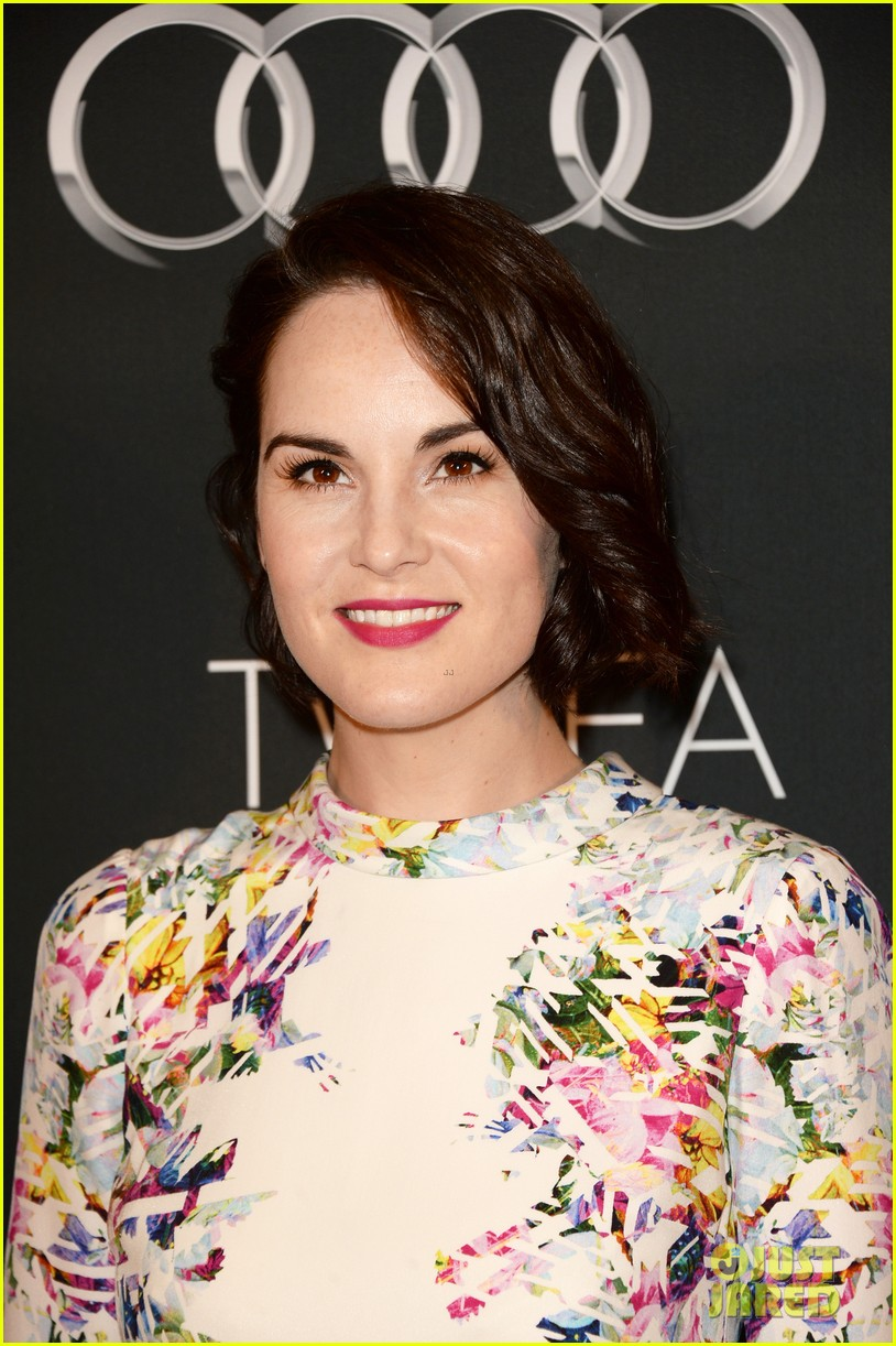 kerry washington michelle dockery bafta la tv tea party 02