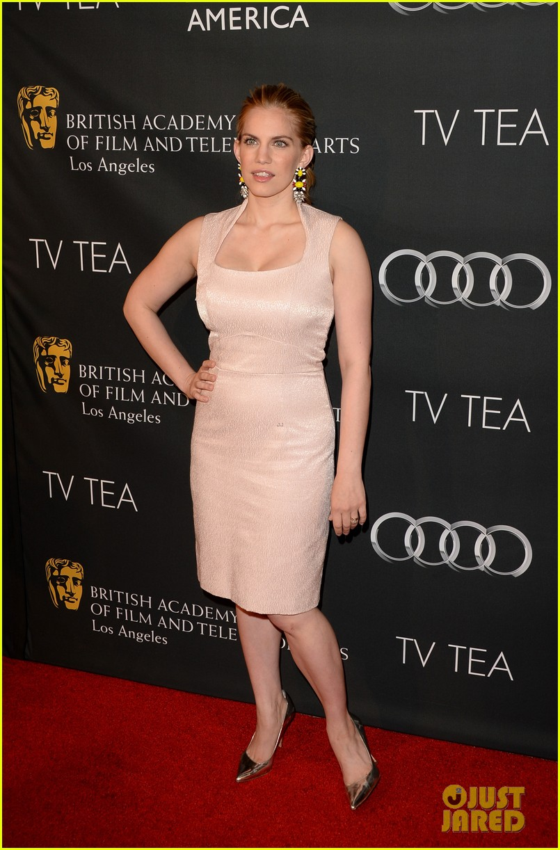 kerry washington michelle dockery bafta la tv tea party 19