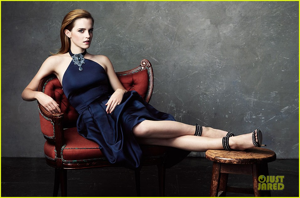 emma watson covers the edit in sustainably produced dress 01