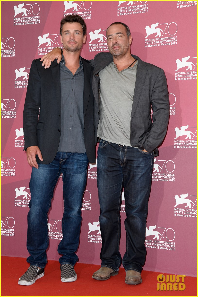 tom welling parkland photo call at venice film festival 04