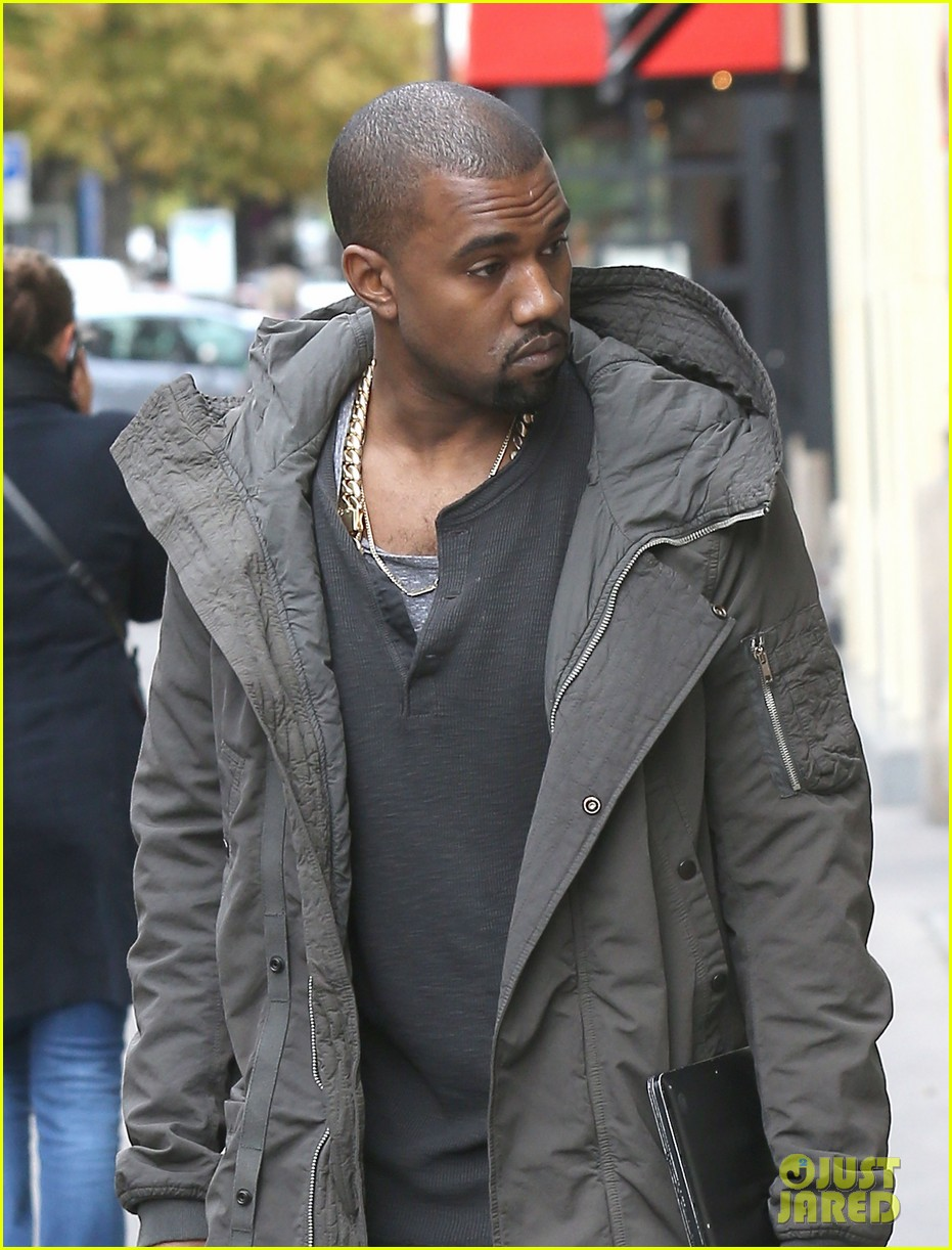 kanye west promotes yeezus in paris 102954634