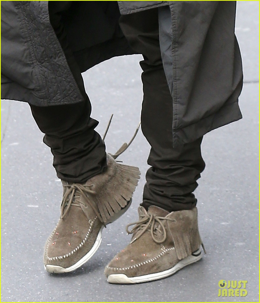 kanye west promotes yeezus in paris 11