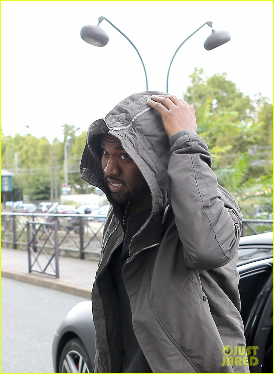 kanye west promotes yeezus in paris 122954636
