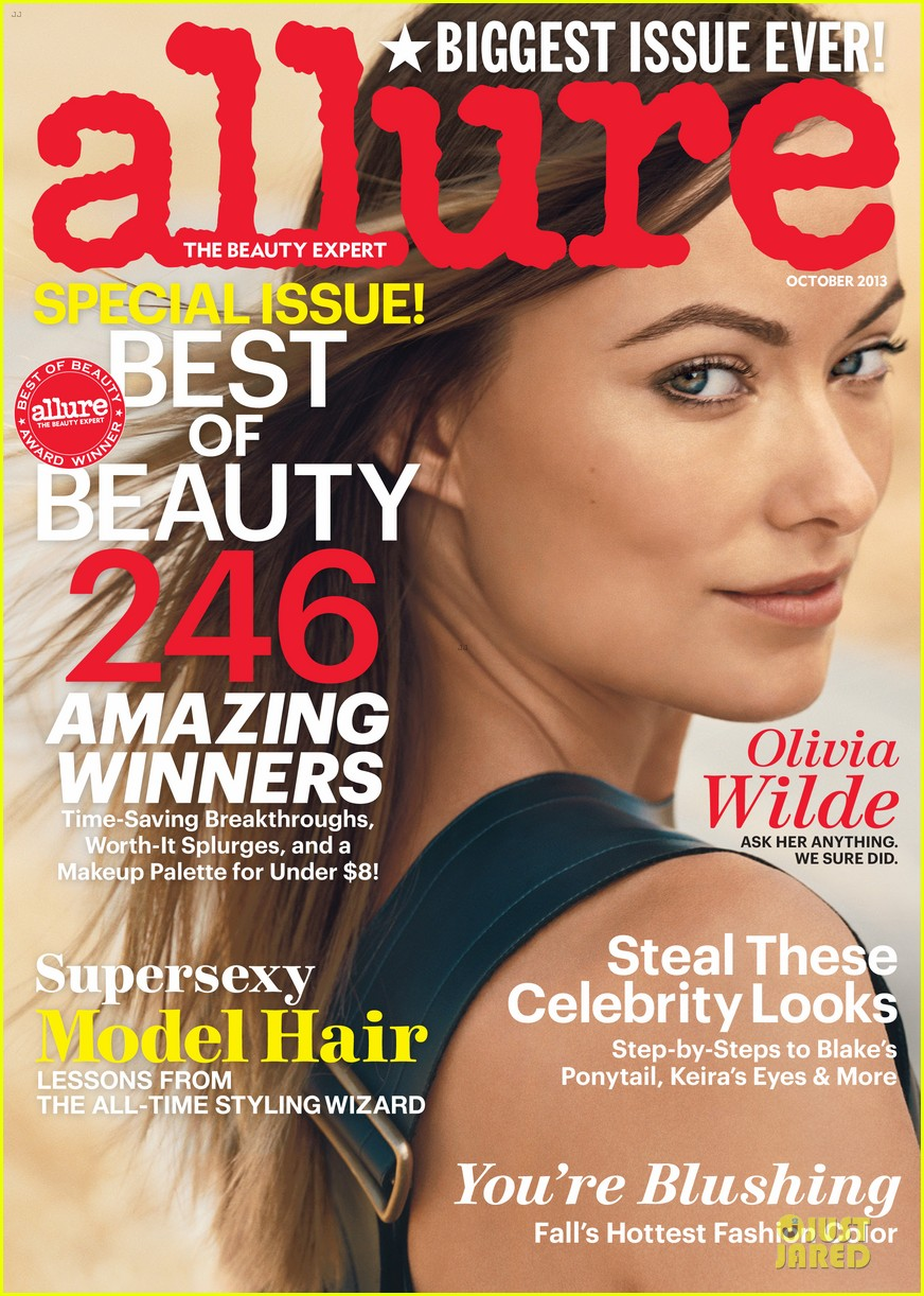olivia wilde exudes allure magazine october 2013 03