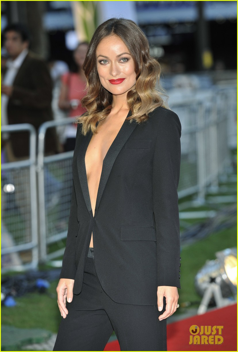 olivia wilde daniel bruhl rush london premiere 042942439