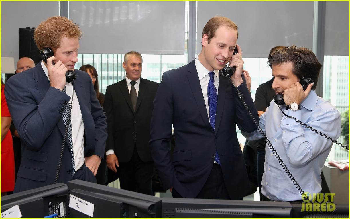 prince william prince harry help broker billion dollar deal during 911 fundraiser 052950053