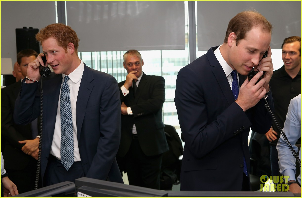 prince william prince harry help broker billion dollar deal during 911 fundraiser 082950056
