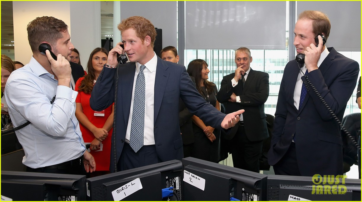 prince william prince harry help broker billion dollar deal during 911 fundraiser 102950058