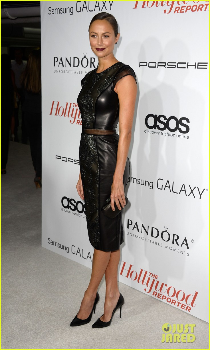 allison williams stacy keibler thrs emmy party 39