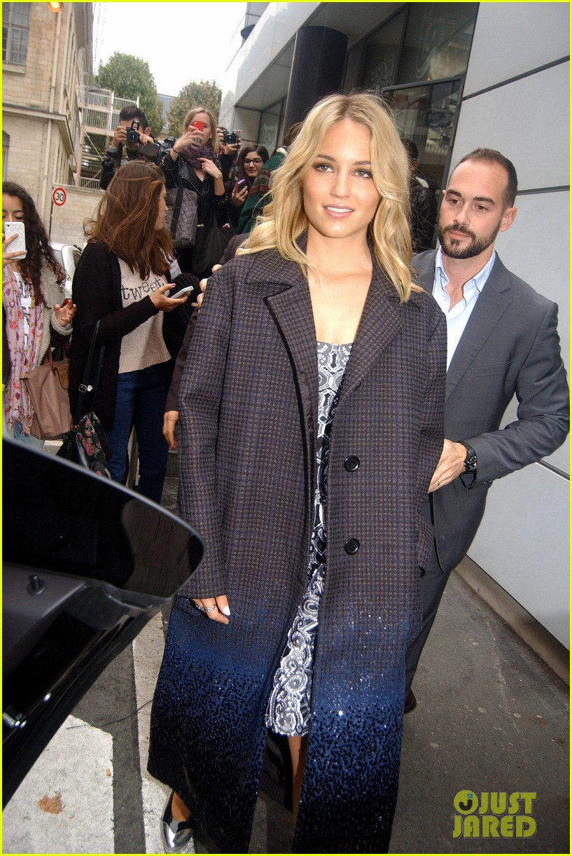 dianna agron promotes the family in paris 04