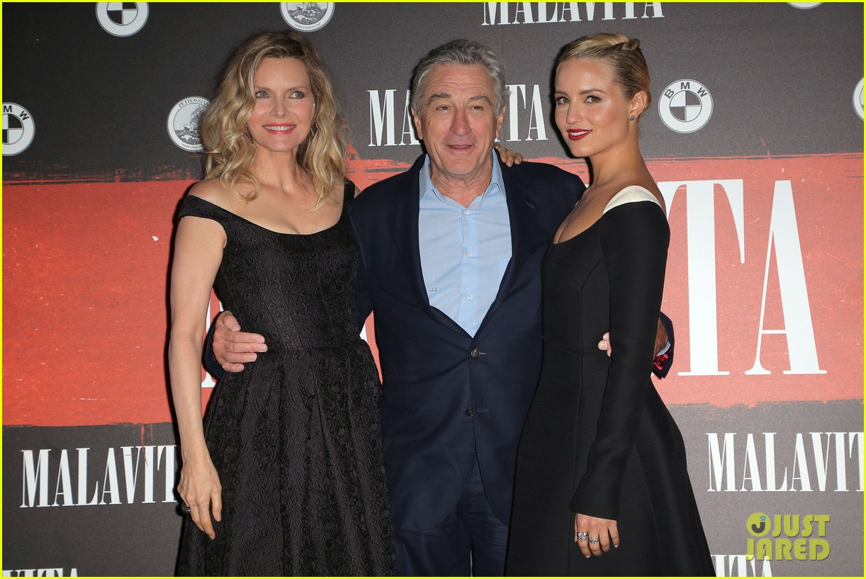 dianna agron promotes the family in paris 06